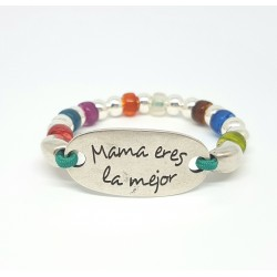 Pulsera Mamá Arco-Iris