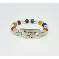 Pulsera Amiga Arco-Iris