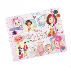 Cuaderno Fashión kids Top Model