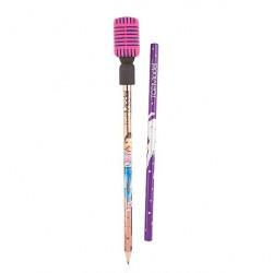 Lápiz con microfono borrador - Set Rosa