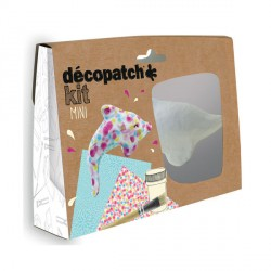Decopatch Mini Kit - Delfin - Avenue Mandarine