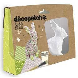 Decopatch Mini Kit - Conejo - Avenue Mandarine
