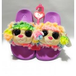 Zapatillas Beanie Boo TY - Rainbow