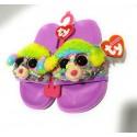 Zapatillas Beanie Boo flippable TY - Rainbow