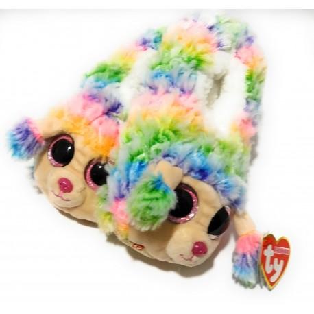 Pantuflas Beanie Boo TY - Rainbow