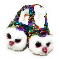 Pantuflas Beanie Boo reversible TY - owen