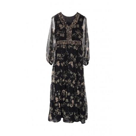 Vestido estampado oriental de Tantrend