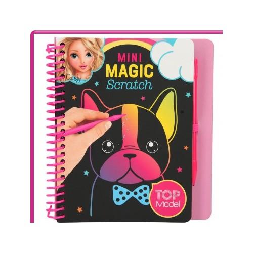 Libro de magic scratch Top Model