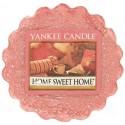 Yankee Candle - Vela perfumada en tarrina, aroma de algodón limpio, Blanco, Wax Melts