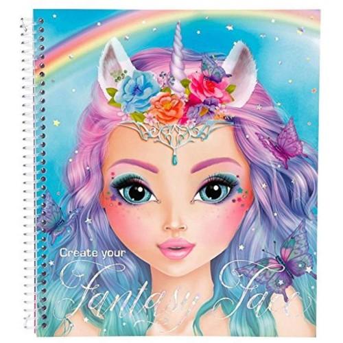 Libro diseñador de vestidos fantasy Top Model