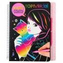 Libro para Colorear Magic Scratch 10795, de TopModel