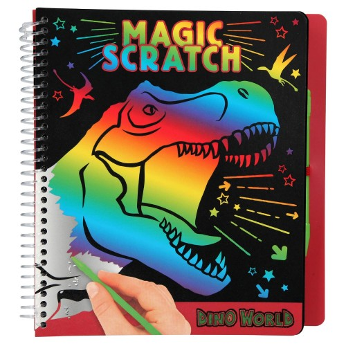 Libro de magic scratch Top Model