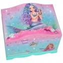 Joyero con Luz Fantasy de Top model - Sirena