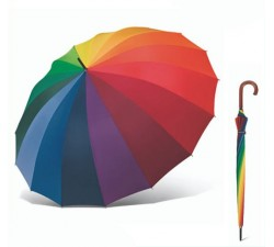Paraguas Iridiscente Cúpula Cuatrogotas