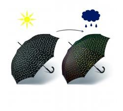 Paraguas automático flores Perletti