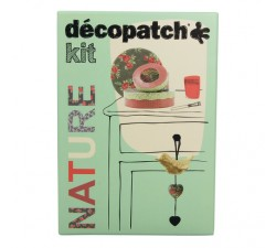 Kit Nature nº3 Decopatch Avenue Mandarine