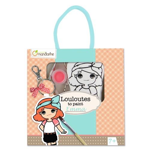 Louloutes para pintar: Lou